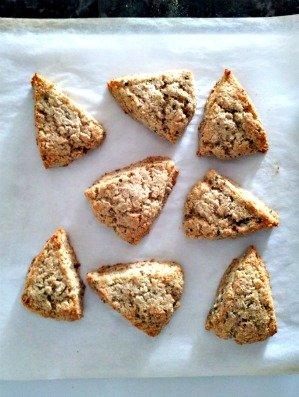 baked scones