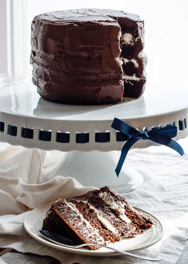 earl grey chocolate layer cake