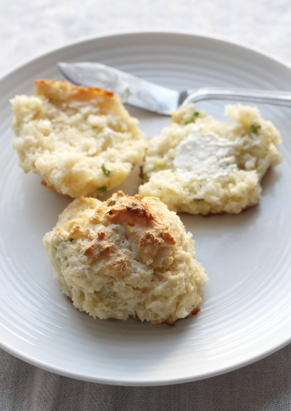 scallion pancake drop biscuit