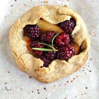 Blackberry-Nectarine-Tart
