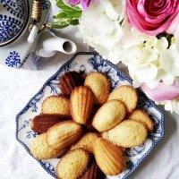 almond-madeleines