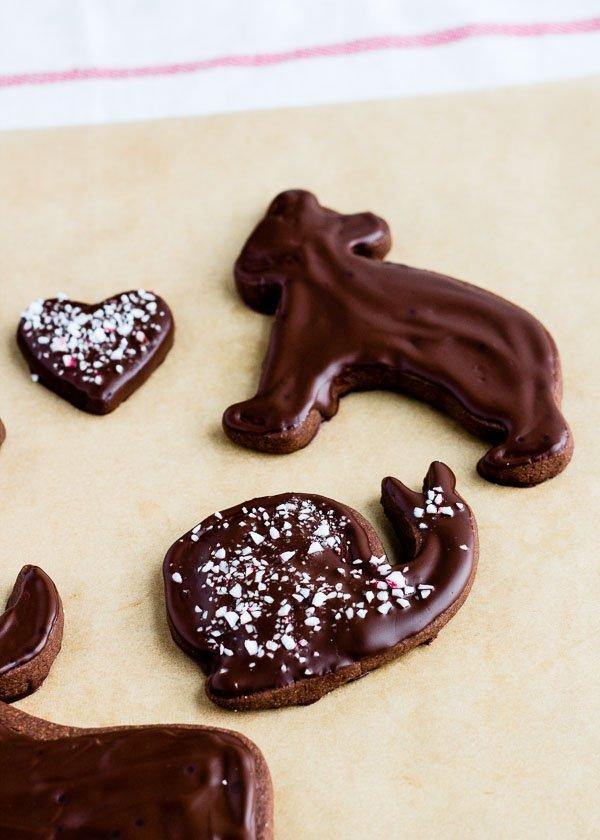 Peppermint Chocolate Shortbread-5