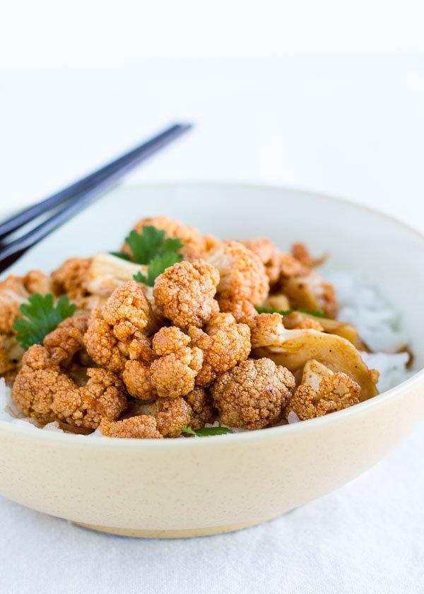 Honey Roasted Cauliflower