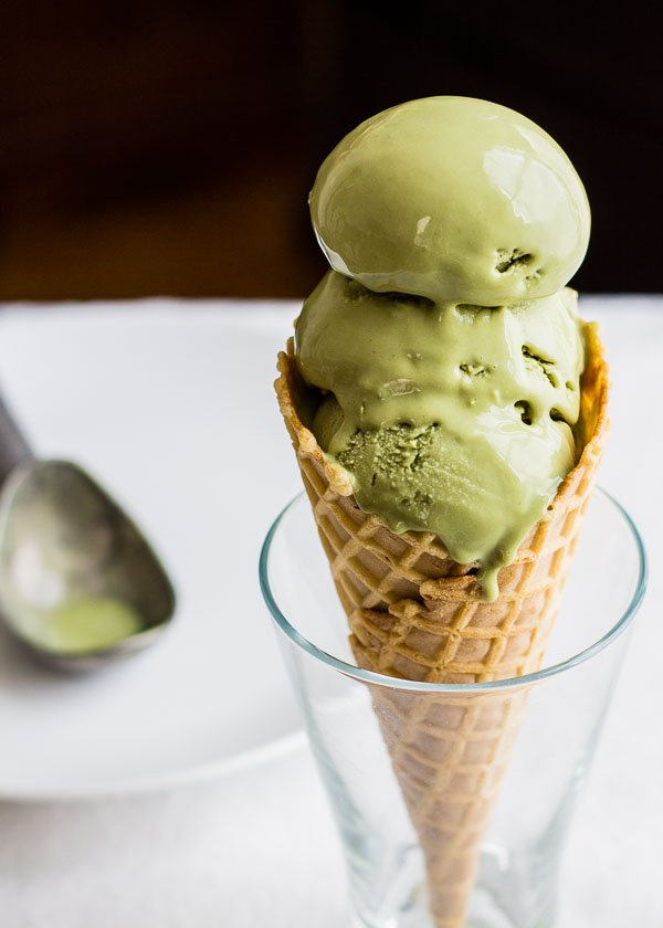 Green Tea Matcha Ice Cream