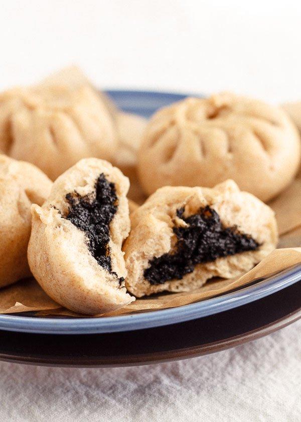Black Sesame Baozi