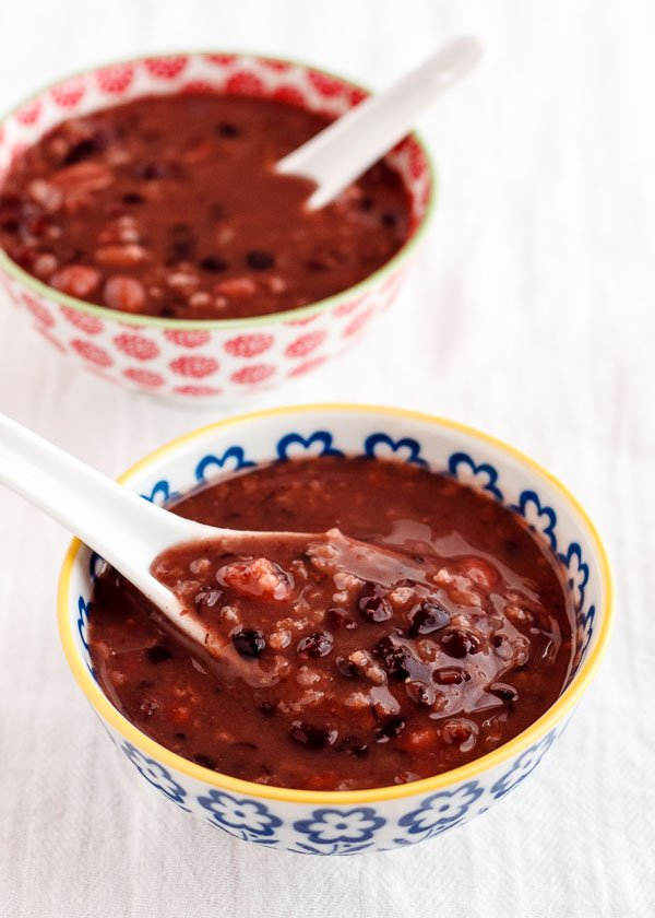 Chinese Red Bean Soup-2
