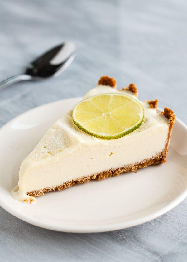 Persian Lime Ice Cream Pie