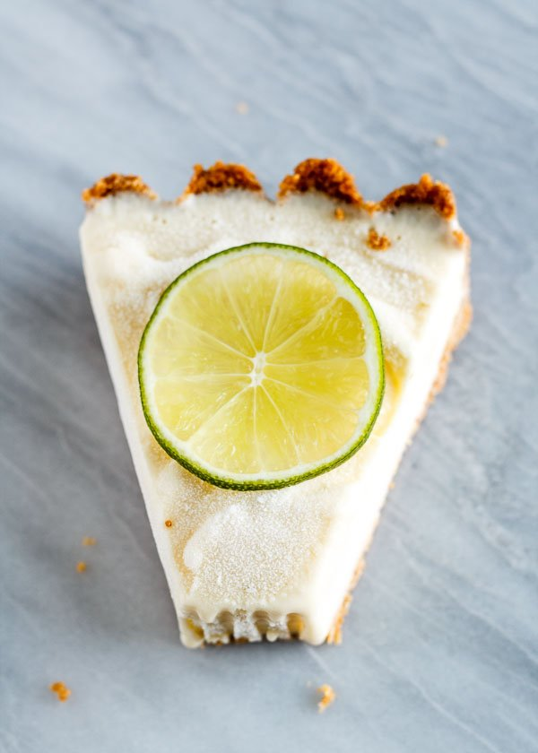 Persian Lime Ice Cream Pie