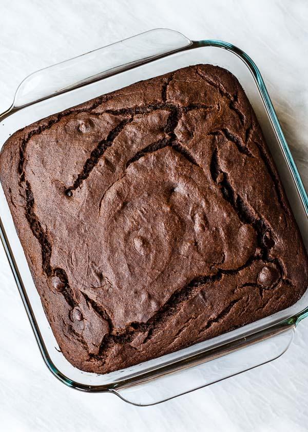 Cacao Banana Buckwheat Snack Cake
